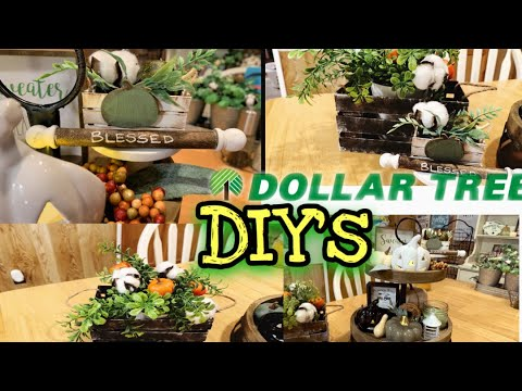 DOLLAR TREE DIY | DIY'S FOR YOUR TIERED TRAY😱