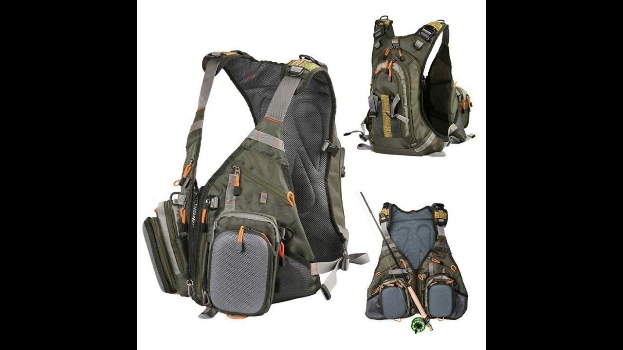 Рюкзак жилет рыболова сумка рюкзак для йорков