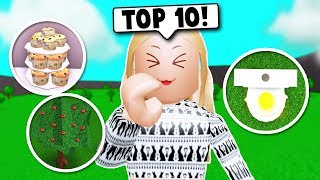 TRYING THE TOP 10 BUILDING *HACKS* ON BLOXBURG! (Roblox)
