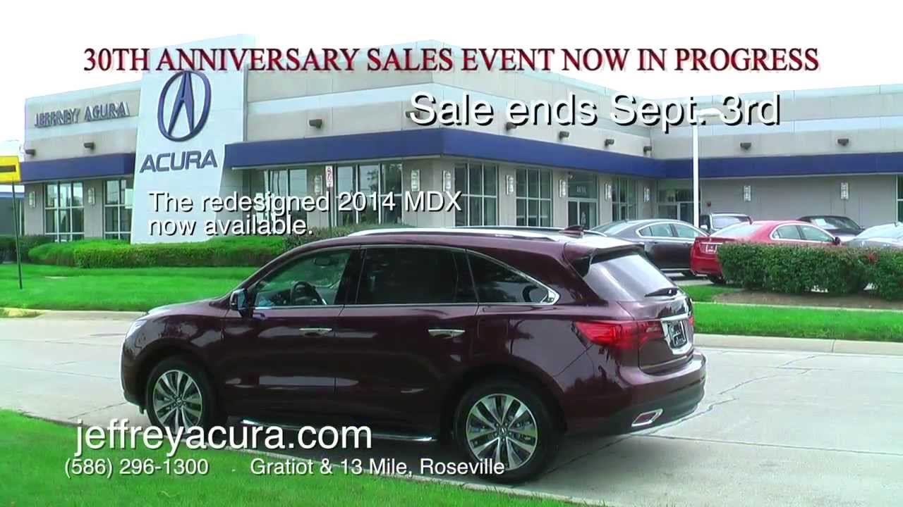 jeffrey acura 30th anniversary continues youtube youtube