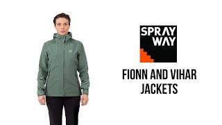 Sprayway - Fionn and Vihar Jackets