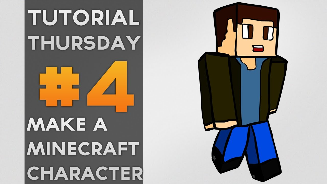 Tutorial Thursday // How To Draw An Awesome Minecraft Character ... for Minecraft Characters Pictures  181obs