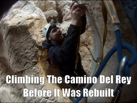 Last Ever Video On The Old Camino Del Rey (Before It Was Rebuilt)
