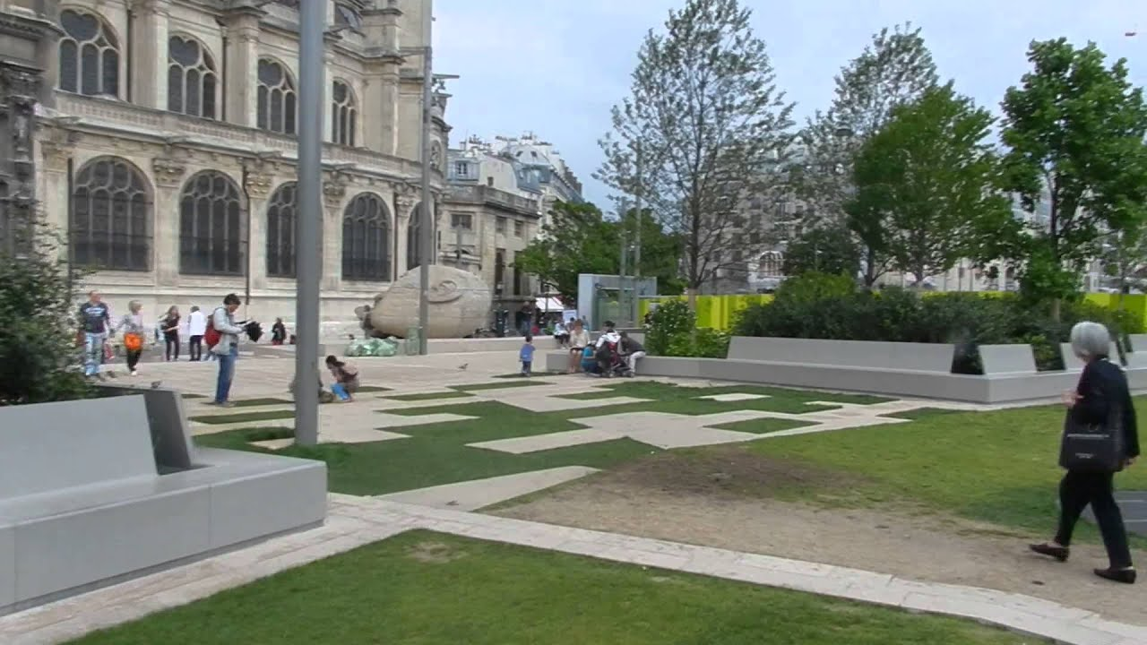 Paris jardin nelson mandela 2014 08 13 youtube for Jardin nelson mandela