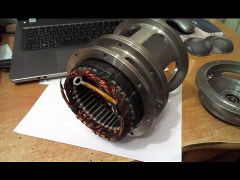 видео: Генератор на постоянных магнитах своими руками.
