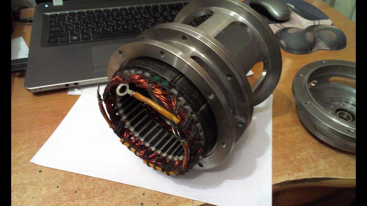 Генератор переменного тока. своими руками фото 354