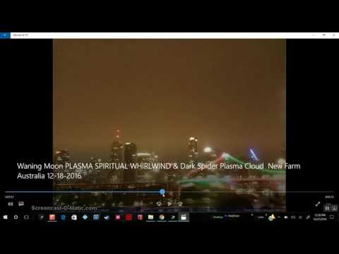 Strong magnetic field of Nibiru warps light in front of camera in Australia 12/27/2016
