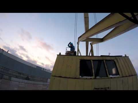 Портовой кран (52m)
