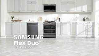 Samsung Flex Duo™ with Dual Door