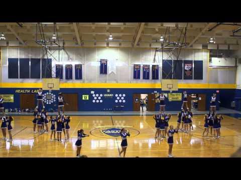 Castle North Middle School Cheerleaders 2013