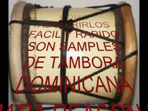 samples de tambora dominicana para reason 3 y 4