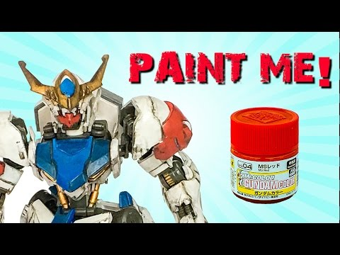 Gundam Painting Tutorial How to Hand Paint Gundam with Mr Color by Lincoln Wright