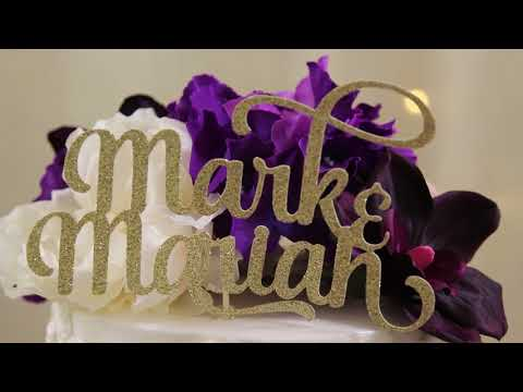 Mr  & Mrs  Mark Lewis _Our Wedding Story
