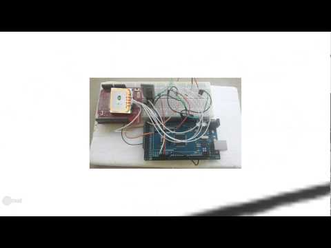 Arduino Based GPS Logger with Real Time Data Plot on Google Map