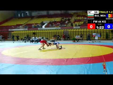 Final EJWC Skopje 2013 FW 44kg 05.07.13 1th And 2th Place