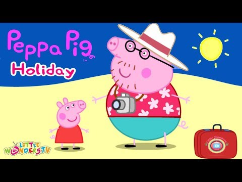 Peppa Pig - Games for kids ☀ PEPPA PIG HOLIDAY FULL GAMEPLAY ☀ BEST iPAD APP DEMO FOR KIDS