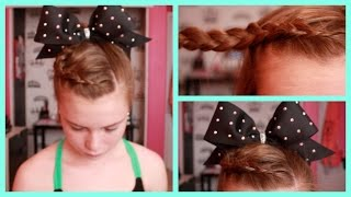 Cheer Hairstyle Tutorial! Thumbnail