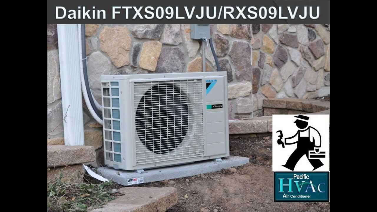 Air Conditioning Installation Daikin Ftxs09lvju 24 5 Seer