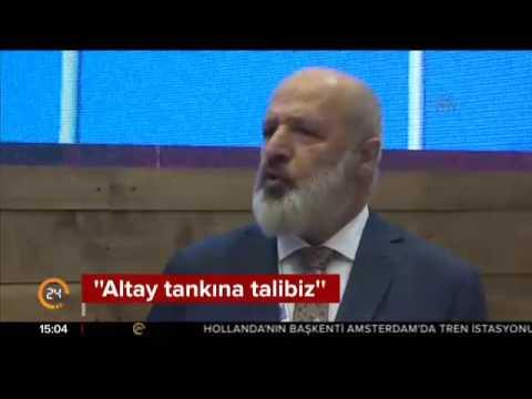 BMC Altay tankına hazır