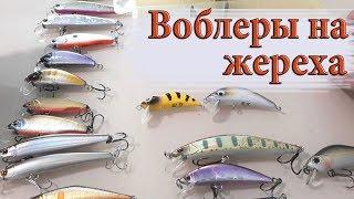 ВОБЛЕРЫ на ЖЕРЕХА 2018. Новинки и проверенные бойцы в коробке.