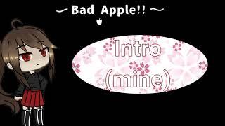 [CLOSED] Gacha MEP/MAP ~ Bad Apple (Jubyphonic Cover)