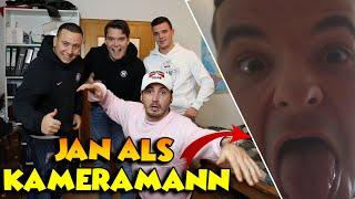 Drehtag mit GEWITTER IM KOPF... JAN als KAMERAMANN! | Vlog
