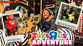 Dallasd Tv Goes To Toys R Us Adventure !