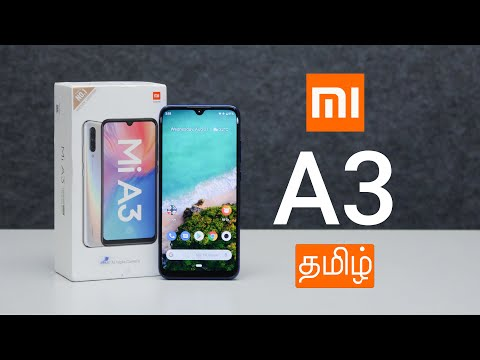 Xiaomi Mi A3 Tamil Unboxing and First Impressions
