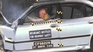 BMW 5 series e39 1997 crash test