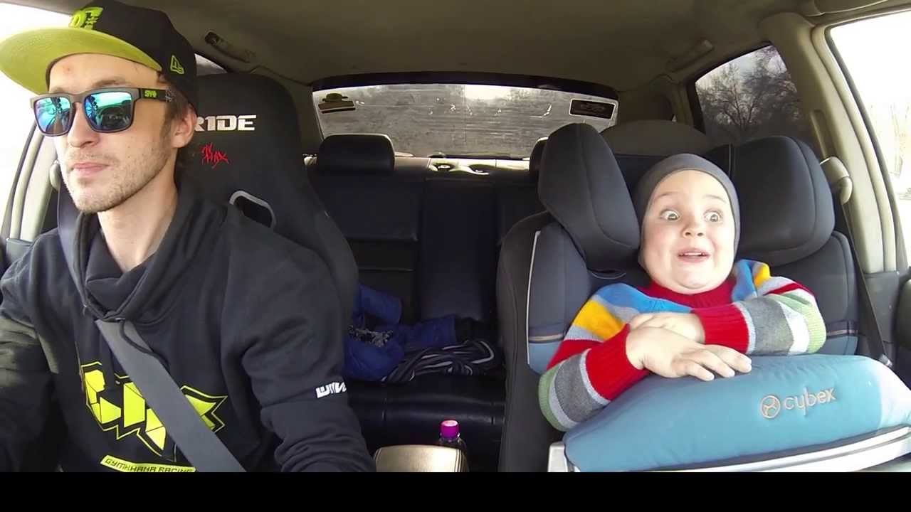 Father And Son Hilarious Car Drifting Youtube