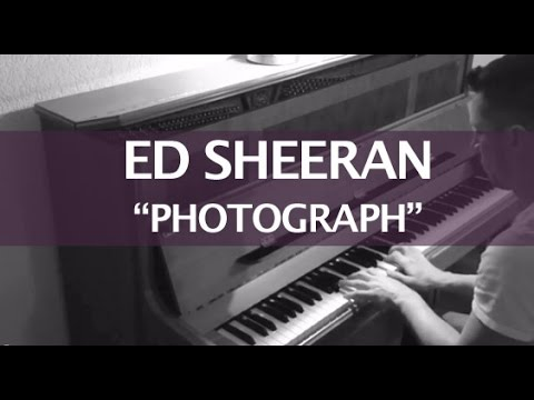 Ed Sheeran - Photograph (Piano Cover & Lyrics)