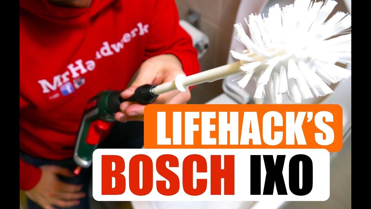 4 lifehack 39 s mit dem akkuschrauber ixo von bosch youtube. Black Bedroom Furniture Sets. Home Design Ideas