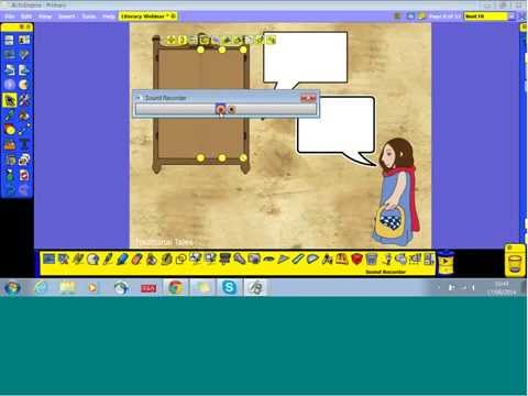 Using an IWB or Touchscreen for Literacy