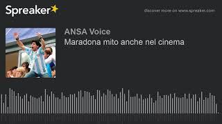 Maradona mito anche nel cinema