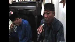 Sambutan mewakili  tuan rmh oleh Bpk. Baharuddin ketua RW 006. Takziah di Sekip Bendung.