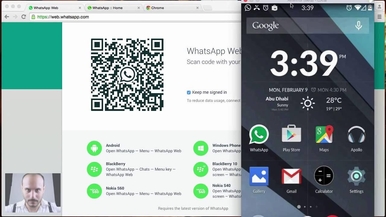 كيفية تشغيل ميزة واتساب ويب Whatsapp للاندرويد Youtube