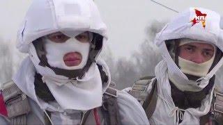 Более тысячи десантников десантировались в Псковской области