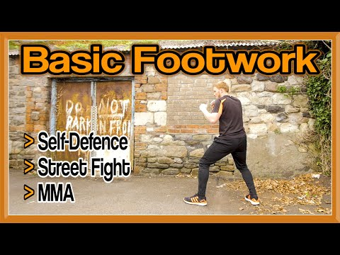 Footwork Tutorial for Self Defence, Street Fight, MMA, etc | GNT