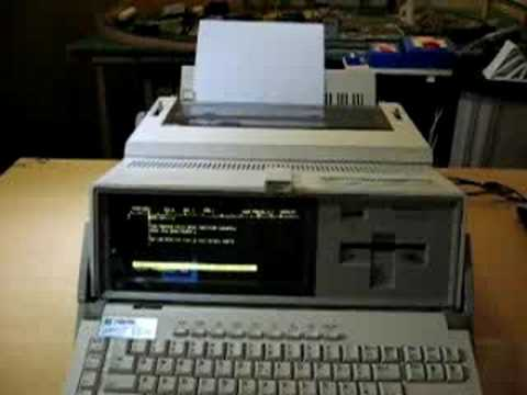 1985s Brother WP1 Word Processor
