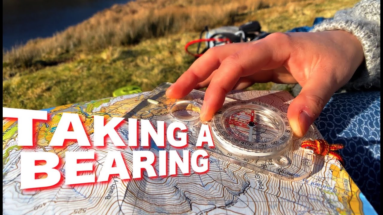 How to take a compass bearing & walk on it.