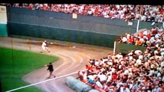 1971 World Series Game 6 Clemente throw
