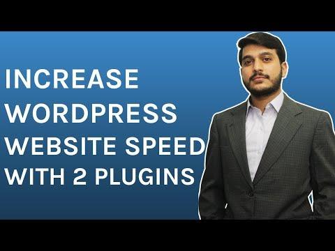 How To Increase Speed of WordPress Website with plugins in Urdu Hindi