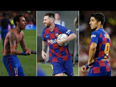 Barcelona News Round-up ft Lionel Messi, Luis Suarez & Neymar Jr Transfer Latest
