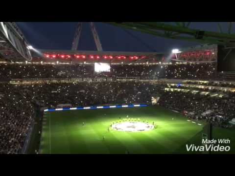 Juventus Stadium Atmosphere against FCBarcelona