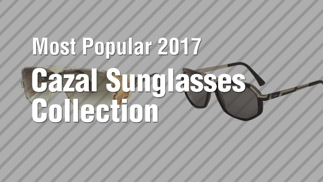 7f4e903169d Cazal Sunglasses Collection    Most Popular 2017 - YouTube