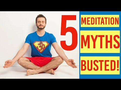 5 Myths of Meditation BUSTED Hari Kalymnios | The Thought Gym