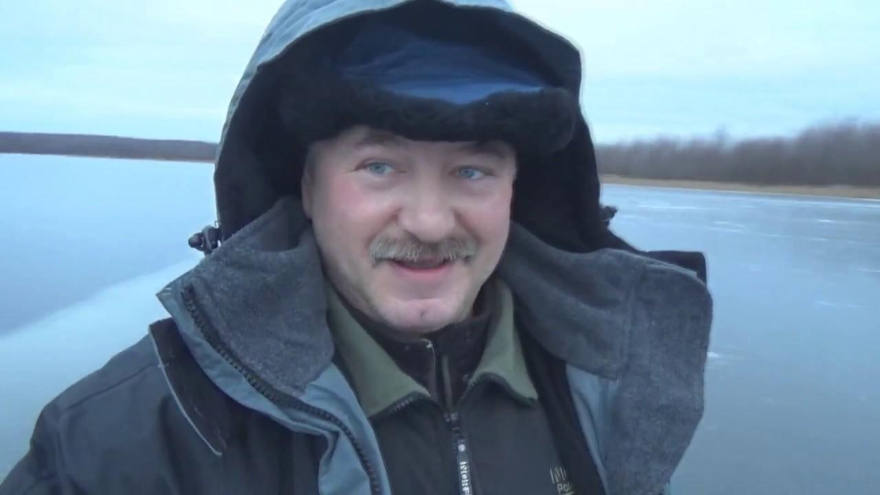 Видеоотчет.Зимняя рыбалка.Щука по первому льду на Желтоухах.
