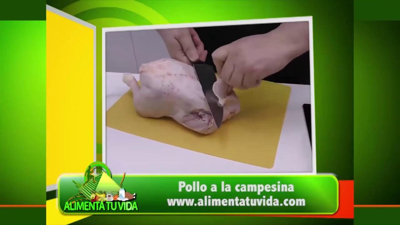Pollo a la campesina