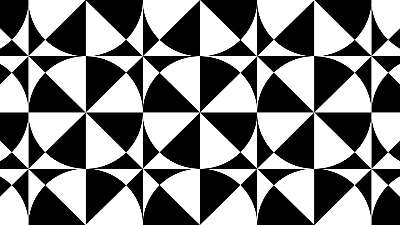 design patterns tile patterns geometric patterns black and white corel draw tutorials 016