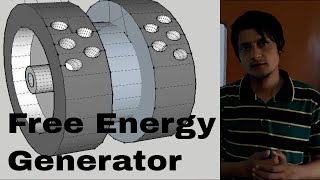 FREE ENERGY GENERATOR BY WASIF KAHLOON DESIGN AND PICTURE OF MAGNET GENERATOR ERROR EXPLAINATION